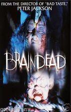 DEAD ALIVE aka BRAINDEAD Movie Poster Horror Gore Peter Jackson