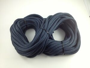 3 Strand Polyester Rope 24mtr x 12mm Reel End Offcut Fender Rope Anchor 3S12