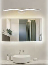 Lampada led da specchio per bagno 9 watt a onda moderna luce 6500k 3000k 4000k