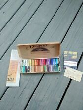 Vintage Grumbacher 30 Soft Pastels 00/C Half-Length - Art, Crafts, Drawing