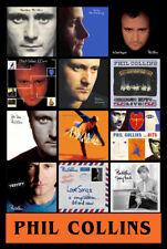 "PHIL COLLINS album discography magnet (4.5"" x 3.5"") Peter Gabriel Genesis"