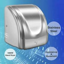 1800W Upgraded Electric High Speed Commercial Stainless Steel Auto Hand Dryer