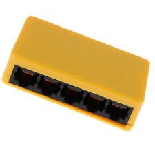 1000Mbps RJ45 5Ports Gigabit Ethernet LAN Switch Splitter de bureau à