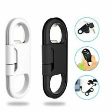 Usb Data Cable Bottle Opener Keychain Portable Micro Cord Smart Key Accessories