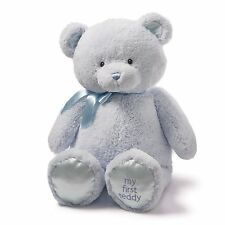 Gund Jumbo 36 inch My 1st Teddy Bear Blue, Stuffed Animal For Kids 4043971 New