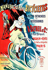 A Dutheil  Manufacture de Bicyclette Bicycle bike Cycle  Deco Auto  Poster Print