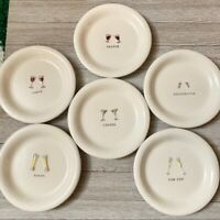Williams-Sonoma Cheers Appetizer Plates Set