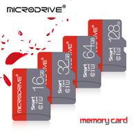 128GB MicroSD Memory Cards 16GB 32GB Class10 TF Flash SD Cards For Phone Cameras