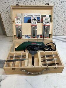 Bosch PSE 180E Power Chisel/Scraper / Wood Carver
