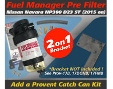 Fuel Manager Pre Filter Kit for Nissan Navara 2015-on NP300 2.3L