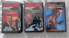 Video - James Bond - Konvolut von 3 Kassetten