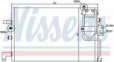 A/C Condenser-GAS, Std Trans, Turbo, 9400 Front Nissens 94504 fits 1999 Saab 9-3