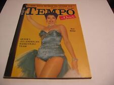 TEMPO & QUICK Magazine March 7, 1955 -ANN MILLER Cover; All-Amer Basketball Team