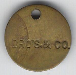 Houston, DE, Johnson Bros. & Co. cannery token