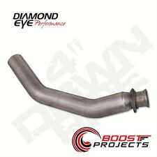 "Diamond Eye 4"" Aluminized Down Pipe for 1994-2002 Dodge Ram 2500 & 3500 221001"