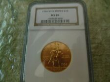 1984-W Olympic $10 BU Commemorative Gold Coin NGC MS 70 RARE!!