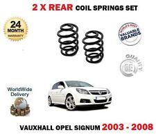 für Opel Signum Fließheck 2003-2008 NEU 2 x Fahrwerksfeder HINTEN FEDERN SET