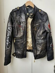 Womens ED HARDY By Christian Audigier Jacket Size Medium-  Excellent Condition.