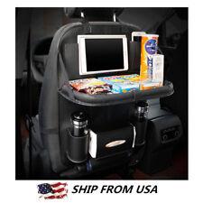 Car Seat Back shelf Organizer Storage Bag iPad Phone Holder Multi-Pocket Leather