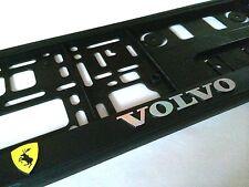 2 x ECHTE 3D Kennzeichenhalter Kennzeichenverstär VOLVO R Design.