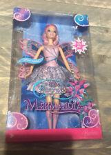 2006 Fairytopia Mermaidia Glitter-Swirl Fairy Barbie doll NRFB