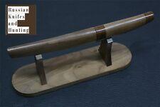 Eridan knife handmade Combat Outdoor Camping Hunting Zlatoust Russian gift stand