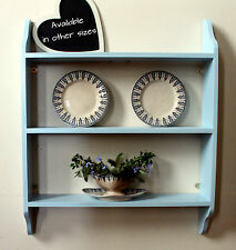 shelf for kitchen, bathroom, bedroom, shabby chic distressed finish