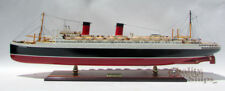 "SS Ile De France 1945 French Ocean Liner Model 38"" Museum Quality Scale 1:250"
