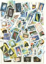 100 Salt Water Fish Stamps All Different Nice Lot