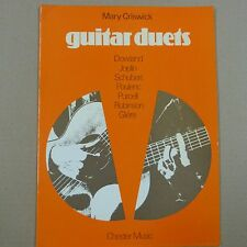 guitar MARY CRISWICK Guitar Duets , music from four centuries, Chester