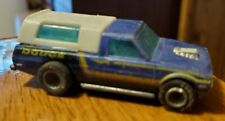Hot Wheels Dodge Truck D-50 Blue Hi Rakers Real Riders Goodyears 1979 Hong Kong