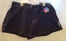 NEW Zero XPosur Womens Swimwear Boy Shorts. SPF 30+ Size 14 Color Blue