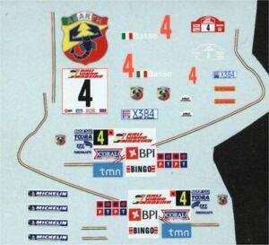 Fiat Punto S2000 - Win Rally Vinho da Madeira 2006 - Giandomenico Basso - Decal