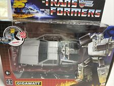 Transformers Gigawatt Back to the Future Mash-Up 35th Anniversary IN HANDS NOW!!