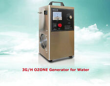 3G/H Ozone Generator for Water Water/Oil/Air 110v live bacteria sterilization