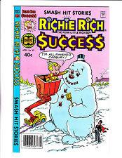 Richie Rich Success Stories No 92   : 1980   :Giant Snowman Cover! :
