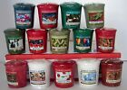 Yankee Candle Christmas & Holiday Votives~ You Choose Mix & Match