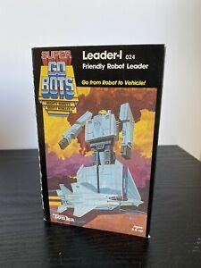 Super GoBots Leader-1 Friendly Robot Leader Vintage 1985 Action Figure NEW MIB