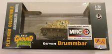 Easy Model MRC 1/72 German Brummbar StupzAbt216 Tank Built Up 36117