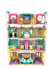 Lot Polly Pocket Dream Builders Deluxe Mansion / Kitchen, Bath, Bedroom...