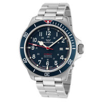 Glycine Men's Combat Sub GL0254 46mm Dark Blue Dial Stainless Steel Watch