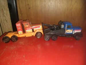Compact Tonka Kenworth Semi Truck & Tow Truck
