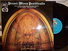 """PEROSI """"Missa Pontificalis"""" LP NM/EX Jos Vranken: Cond, Koren Mariae Immaculatae"""