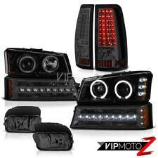 2003-2006 Silverado 2500Hd Foglights Taillamps Bumper Lamp Projector Headlights
