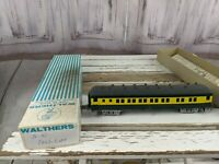 C&W coach passenger unmarked northwestern green yellow train car toy HO freight