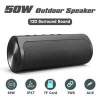 50W Audio-Docks bluetooth 5.0 Mini-Lautsprecher Audio Power Bank Geräte IPX7Laut