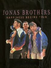 Jonas Brothers Happiness Begins Tour Ladies T shirt Size S Brand New
