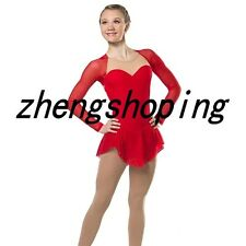 Women'Ice-Skating-Dress-Competition-Athletic-Twirling-Figure-Dance-Dress 8808