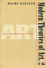 Modern Theories of Art 2: From Impressionism to Kandinsky