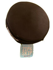 Zip and Skip Pet Zippered Collapsible Travel Bowls in Case Dog or Cat NEW